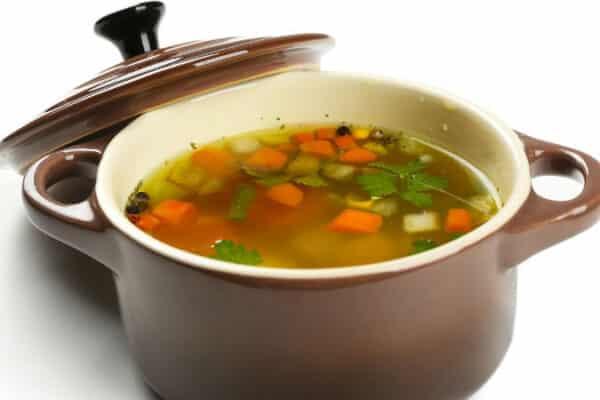 como preparar sopa de legumes