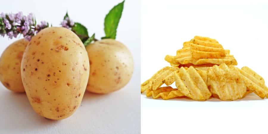 alimentos naturais e industrializados