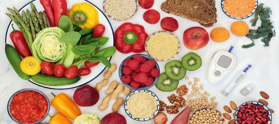 Como controlar diabetes com alimentação